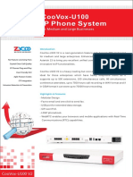 Zycoo CooVox U-100 IP-PBX