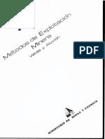 Metodos Explotacion Minera