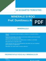 Minerale si Roci