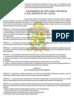 Reglamento Tortillerias y Molinos de Nixtamal en El Municipio de Tala, Jalisco