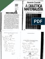 CHEPTULIN, A. a Dialética Materialista