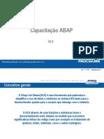 Capacitação Abap ALV