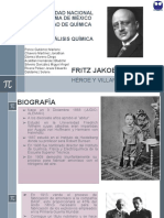 Fritz Jakob Haber. Síntesis de Amoniaco (1)