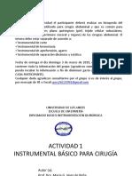 Act. 1 Instrumentos