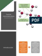 Fuerza Intermoleculares