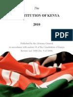 Kenya's New Constitution