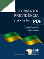 Cartilha Reforma Da Previdencia Sob a Visao Da Amb 2018