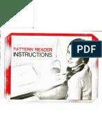 Knittax Knitking Pattern Reader Instructions