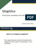 Silogística - Primera Parte