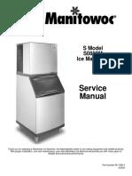 Manitowoc Ice Machine s0850m_sm