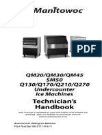 Manitowoc Ice Machine Undercounter_Tech_Handbook