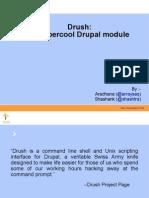Drush Presentation by Srijan