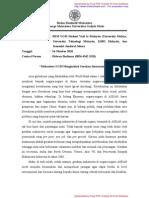 Press Release Pasca Kunjungan