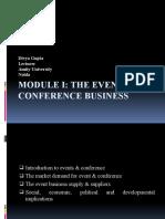 Module 1 - Event Mgt