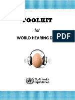 TOOLKIT FOR WORLD HEARING DAY
