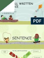 The Well Written Sentence