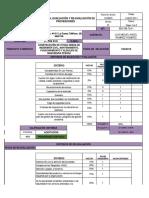 2.10.1 Evaluación y Selección de Proveedor