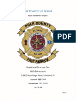 Polk County Fire Rescue report of deadly Nov. 23, 2018, fire