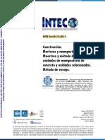 INTE 06-02-13 2015 (ASTM C140)