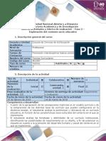Guía de Actividades y Rúbrica de Evaluación - Fase 2 - Exploración Del Contexto Socio-educativo (2)