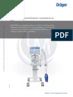 Ventilador Monitorizador Respiratoria Uci Drager Evita v300