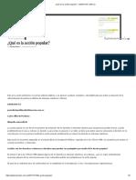 ¿Qué Es La Acción Popular_ - LANACION.com.CO