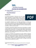 Balance Militar Suramericano