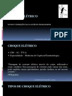Danos e Consequências Dos Choques Elétricos- Dra. Gabriella de Oliveira
