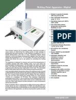 Melting Point Apparatus - Digital