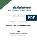 Kahoot (Proposal)