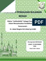 Cover Pengajian Dr Mughni