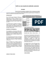 Determinación de CaCO3 en Una Muestra de Antiácido Comercial
