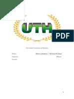 Fisica I , Informe Laboratorio I