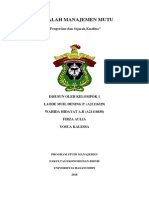 MAKALAH Manajemen Kualitas KLP 1