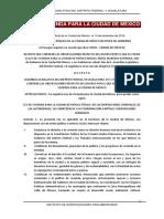 Ley de Vivienda Del Df
