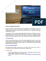 Lomba Blog Terbaru ASUS VivoBook Pro F570