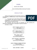 53733-2002-Amendment of Revised Rule on Summary