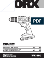 Wx169l Owners Manual Worx