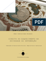 Dissertação. Direito ao Esquecimento na Sociedade da Informação.pdf