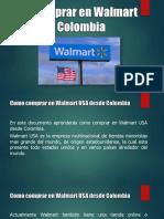 Como Comprar en Walmart USA Desde Colombia - Tiendas Online Walmart USA