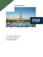 Cultura y Tradición Alimentaria Francesa