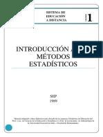 Introducción a Los Métodos Estadísticos 3ºparte