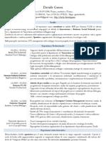 C.v. Davide Grassi, Ingegnere Gestionale, Innovazione, ICT, Management, Business Social Network