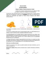 Guia de Estudio Para Estereoquímica- Sistemas Químicos II