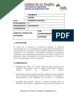 PROGRAMA DE PAVIMENTOS