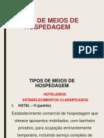 Tipologia de Hoteis