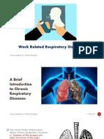 Work Related Respiratory Diseases