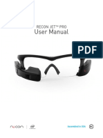 Recon Jet Pro User Manual 120116