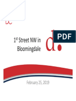 DDOT 1st St NW Presentation 2019 02 25