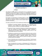 Actividad de Aprendizaje 16 Evidencia 2 Matriz de Riesgos. P.S